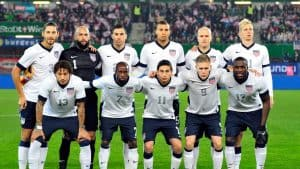 USA's World cup team